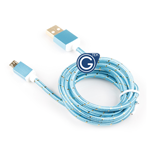 Braided Micro USB Charging/Data Cable 1.5M in Blue