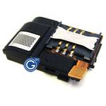 Samsung  S7230 sim card flex with loudspeaker