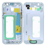 Genuine Samsung Galaxy A5 2017 A520 Blue Chassis / Middle Cover - Part no: GH96-10623C