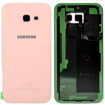 Genuine Samsung Galaxy A5 2017 Battery Cover Pink - Part no: GH82-13638D