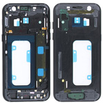 Genuine Samsung Galaxy A3 2017 A320 Black Chassis / Middle Cover - Part no: GH96-10575A