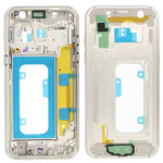Genuine Samsung Galaxy A3 2017 A320 Gold Chassis / Middle Cover - Part no: GH96-10575B