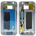 Genuine Samsung G930F Galaxy S7 Front Cover Frame In Black - Part no: GH96-09788A