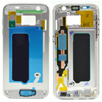 Genuine Samsung G930F Galaxy S7 Front Cover Frame In Silver - Part no: GH96-09788B