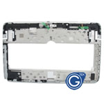 Samsung Galaxy Note 10.1  GT-N8010 GT-N8013 (Wifi Version) Front Cover with Side Button and Flex in White
