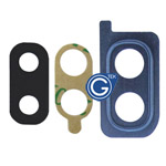 Samsung Galaxy A20 SM-A205F Camera Cover with Lens in Blue