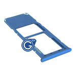 Samsung Galaxy A30 SM-A305F Sim Holder in Blue
