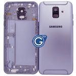 Samsung Galaxy A6 (2018) A600F Rear Housing with side buttons in Purple