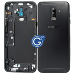Samsung Galaxy A6+ (2018) A605F Rear Housing with side buttons in Black