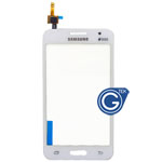 Samsung Galaxy Core 2 G355H Digitzer in White (with DUOS Logo)