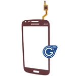 Samsung Galaxy Core DUOS i8262,Galaxy Core i8260 Digitizer in Red (with DUOS logo)
