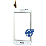 Samsung Galaxy Core Prime G360 Digitizer Touchpad in white without Duos logo