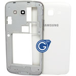 Samsung Galaxy Grand 2 G7106,G7102 Rear Housing in White