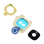 Samsung Galaxy J6 SM-J600F Camera Cover with Lens in Gold