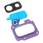 Samsung Galaxy J8 J810F Camera Cover with Lens in Purple
