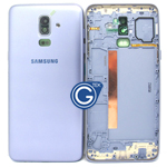 Samsung Galaxy J8 J810F Rear Cover with Side button in Blue