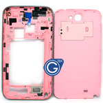 Samsung Galaxy Note 2 N7100 Rear housing in pink