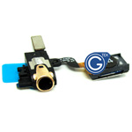 Samsung Galaxy Note 3 LTE (N9005) earphone flex with speaker in gold