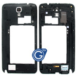Samsung Galaxy Note 3 Neo SM-N7505 Rear Chassis with Loudspeaker Uinit and Camera Lens Black