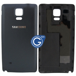 Samsung Galaxy Note 4 N910F Battey Cover in Black