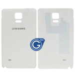 Samsung Galaxy Note 4 N910F Battey Cover in White