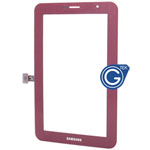 Samsung Galaxy Tab 2 7.0 P3100 Digitizer in Red