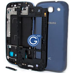 Samsung Galaxy S3 LTE i9305 Complete Housing in Blue