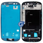 Samsung Galaxy S3 LTE i9305 LCD Frame in Silver