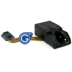 Samsung GT-I9195 Galaxy S4 Mini - Audio Flex-Cable + Earphone Jack  - Part no: GH59-13416A