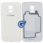 Samsung Galaxy S5 Mini G800F Battery Cover in White