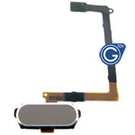 Samsung Galaxy S6 SM-G920F Home Button with Flex in Gold