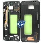 Samsung Galaxy S8 Plus G955F LCD Frame in Black