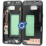 Samsung Galaxy S8 SM-G950F LCD Frame in Black