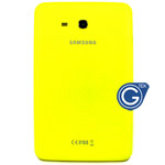 Samsung Galaxy Tab 3 Lite T110 (7.0 Wifi Version) Back Cover with Side Button in Yellow