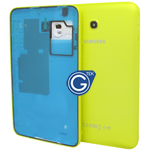Samsung Galaxy Tab 3 Lite T111 (7.0 3G Version) Back Cover with Side Button in Yellow