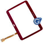 Samsung Galaxy Tab 3 10.1 P5200, P5210 Digitizer in Red
