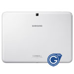 Samsung Galaxy Tab 4 10.1  Wifi Version SM-T530 Back Cover with Side Button in White