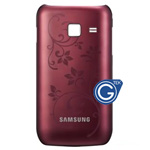 Samsung Wave Y S5380 back cover red