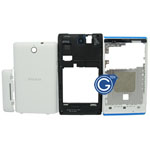 Sony C1505 Xperia E Complete Housing in White