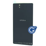 Genuine Sony Xperia Z L36h battery cover in black