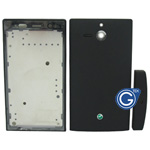 Sony ST25i Xperia U Housing in black
