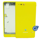 Sony ST27i Xperia go Housing in yellow