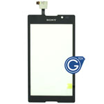 Sony Xperia C S39H Digitizer Touchpad in Black