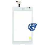Sony Xperia C S39H Digitizer Touchpad in White
