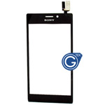 Sony Xperia M2 (S50h) Digitizer Touchpad in Black