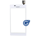 Sony Xperia M2 (S50h) Digitizer Touchpad in White