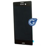 Sony Xperia M4 Aqua Complete LCD and Digitizer in Black