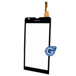 Sony Xperia SP M35h Digitizer Touch Screen in Black