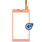 Sony Xperia SP M35h Digitizer in Pink