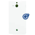 Sony Xperia U ST25i battery cover in white